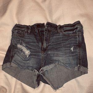 Distressed/ Patterned Hollister Shorts